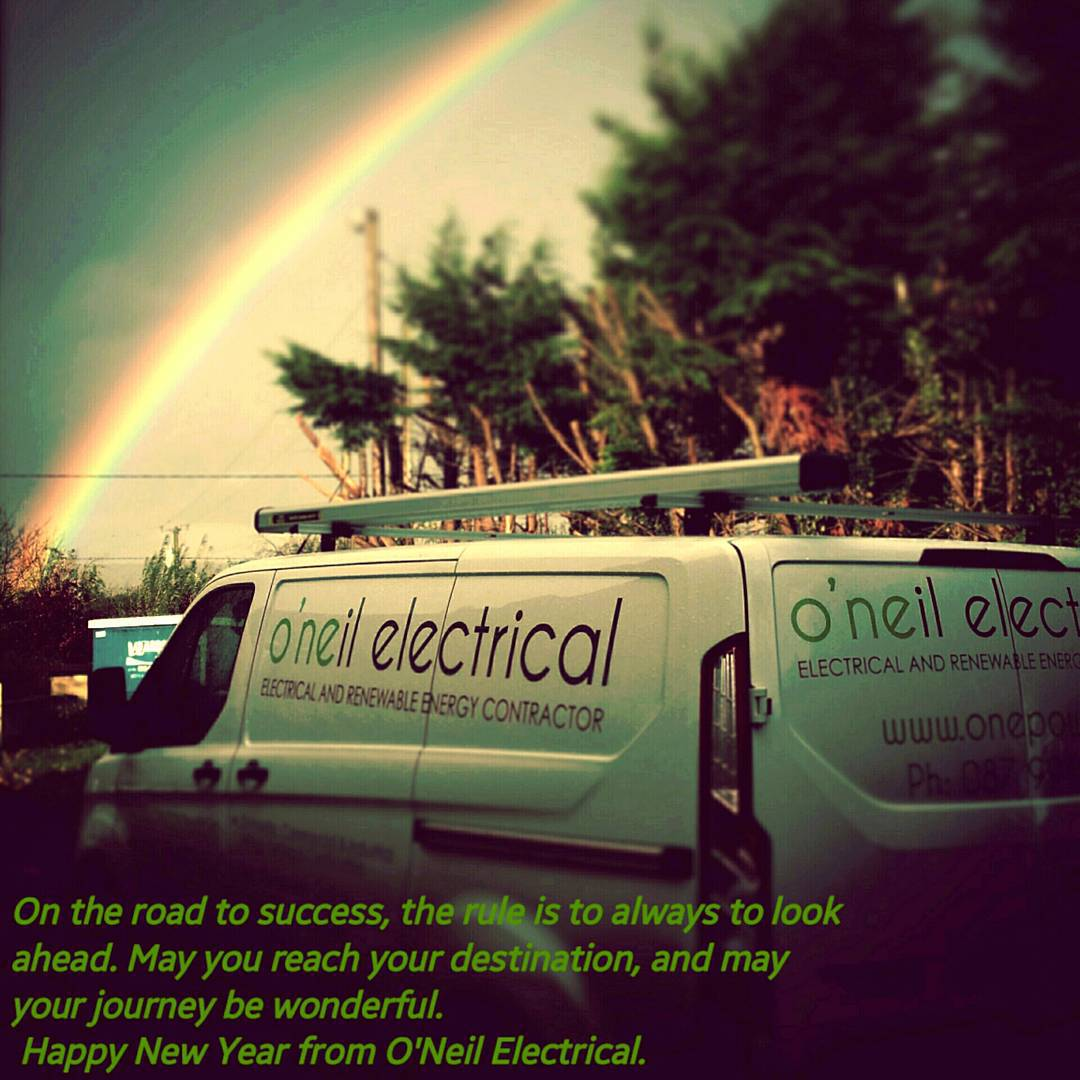 Happy New Year from O'Neil Electrical.